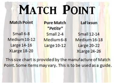 1c58bce44f4 Match Point items below that style numbers begin with LP or HLP will fall  under the